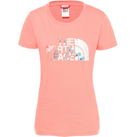 The North Face Easy S/S Tee Women spiced coral
